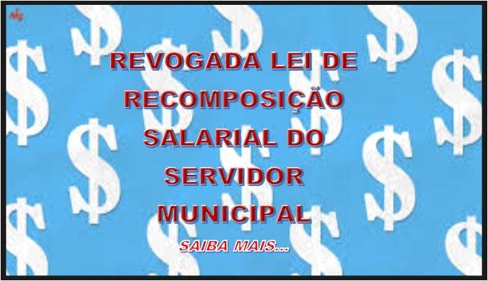 Revogação Recomposição Salarial