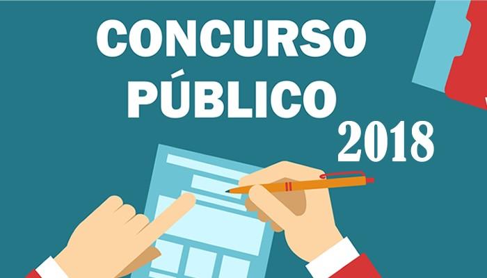 Concurso Público nº 001/2018